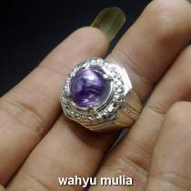 ciri batu kecubung ungu asli
