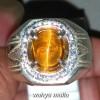 batu cincin permata golden opal cat eye mata kucing asli_4