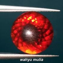 jual batu red fire opal wonogiri warna merah asli harga murah