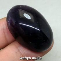 gambar Batu Akik Mustika Kecubung Wulung senter Ungu Jumbo asli harga khasiat asal ciri natural palsu_5