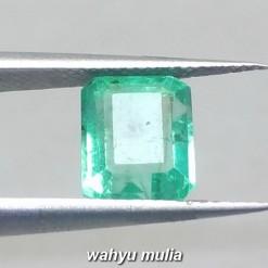 gambar cincin Batu Emerald Beryl Zamrud Colombia Kotak HQ Asli ciri khasiat harga rusia _1