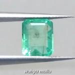 gambar cincin Batu Emerald Beryl Zamrud Colombia Kotak HQ Asli ciri khasiat harga rusia _7