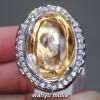 Batu Cincin Kinyang Kecubung Rambut Jarum Emas Asli natural kalimantan berkhodam kegunaan harga jenis ciri _5