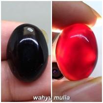 Sejarah Batu Yahman Kencono Wulung Tembus Senter Merah asli tarikan berkhodam mustika khasiat harga jenis asal palsu bacaan_6