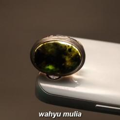 foto Batu Cincin Black Jet Lafadz Muhammad Giok Hitam asli nempel magnet khasiat harga korea berkhodam bagus_6