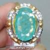 foto jual Cincin Batu Zamrud Emerald Beryl Besar asli bersertifikat berkhodam khasiat harga colombia jumbo ciri bagus bening_5