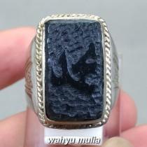 harga Batu Giok hitam Lafadz Muhammad nempel magnet asli bersertifikat korea badar besi bagus berkhodam jenis_7