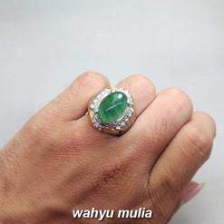 harga Cincin Batu Akik Zamrud Emerald Beryl asli bersertifikat mustika berkhasiat ciri jenis brazil rusia afrika pria wanita_4