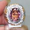 mustika Cincin Batu Permata kecubung ungu violet sapparela amatis Asli berkhodam bersertifikat natural memo kalimantan khasiat cara_5