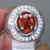 Gambar Batu Cincin Natural Orange Garnet Srilangka Asli natural bersertifikat berkhodam ciri harga khasiat_5
