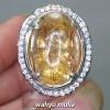 Harga Cincin Batu Akik Kinyang Rambut Sedana kecubung Asli bersertifikat quartz kalimantan manfaat berenergi asal_5