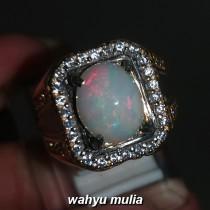 foto Batu Cincin Kalimaya Susu Opal Asli bersertifikat banten afrika ethiopia jarong bagus_5