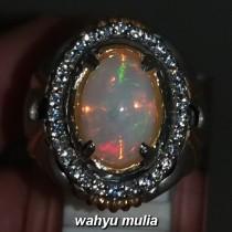 harga Batu Kalimaya Opal Kembang Jarong Asli bersertifikat original banten afrika cewek cowok bagus disko_5