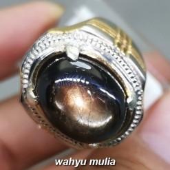 Batu Akik Kresnadana Black Safir Asli bagus untuk pria wanita bali_1