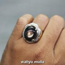 Batu Akik Kresnadana Black Safir Asli bagus untuk pria wanita bali_5