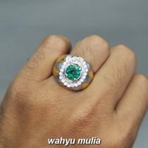 Batu Permata Green Topaz Hijau Bundar asli bersertifikat kating manfaat ciri harga_4