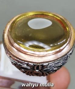 Batu Permata Citrine Kecubung Kuning Besar asli original