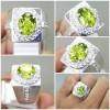 Cincin Batu Natural Green Peridot Asli_7