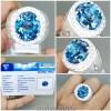 Batu Natural London Blue Topaz Bersertifikat Ring Perak_7